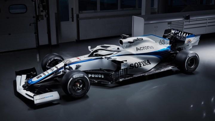 Williams FW43 2020 motorisée par un Power Unit Mercedes