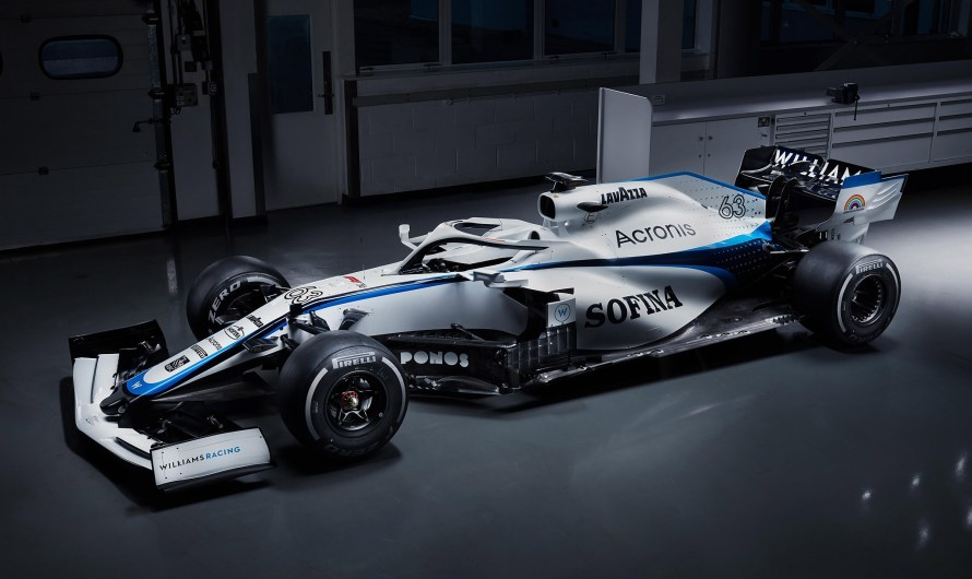 Williams FW43 2020 motorisée par un Power Unit Mercedes
