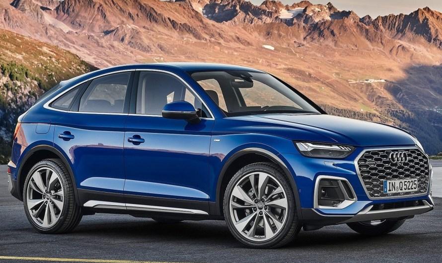 Audi Q5 Sportback 2021 – Il reçoit de série la suspension sport