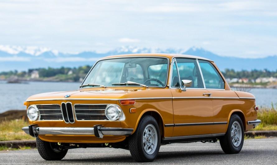 BMW 2002 Tii 1973 – Un i supplémentaire qui a son importance