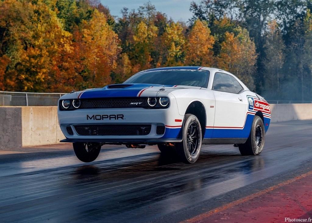 Dodge Challenger Mopar Drag Pak 2021 – Le plus rapide et le plus puissant jamais conçu.