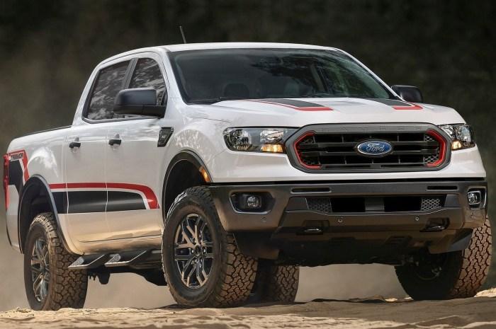 Ford Ranger Tremor 2021 – Des roues plus grandes et une suspension Fox relevée