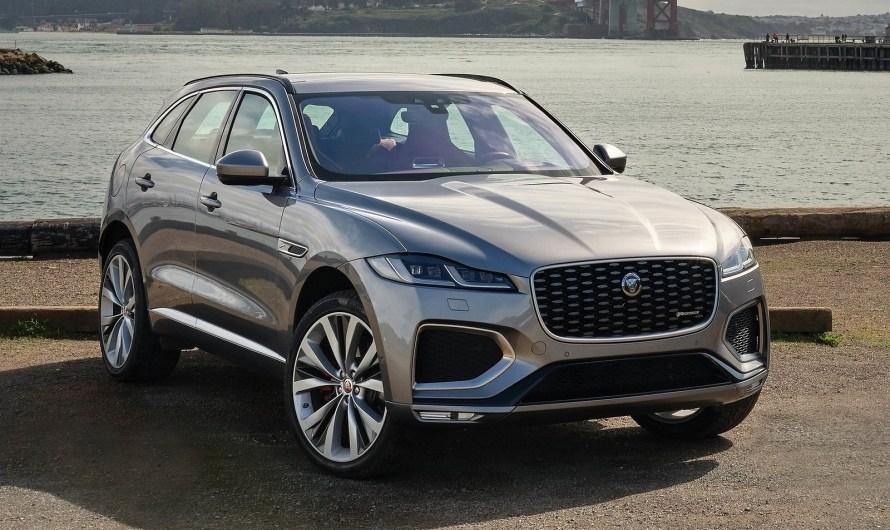 Jaguar F Pace 2021 – Plus de technologie et un nouvel intérieur luxueux.