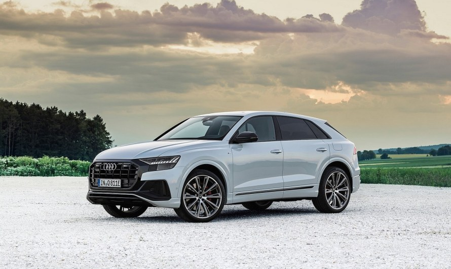 Audi Q8 TFSI e quattro 2021 – Jusqu'à sept profils de conduite
