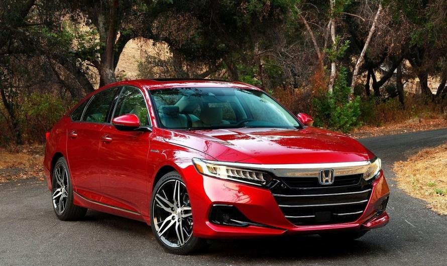 Honda Accord Hybride 2021 – Rafraîchissement du style extérieur
