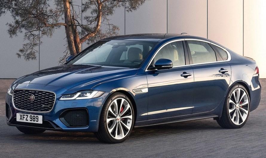 Jaguar XF 2021 – Le style est l'un de ses points forts