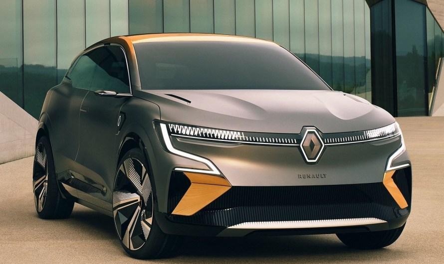 Renault Megane eVision Concept 2020 – Un SUV entièrement électrique