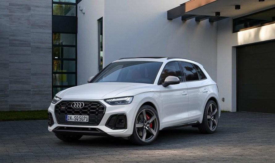 Audi SQ5 TDI 2021 – Encore plus nette, plus sportive et plus efficace