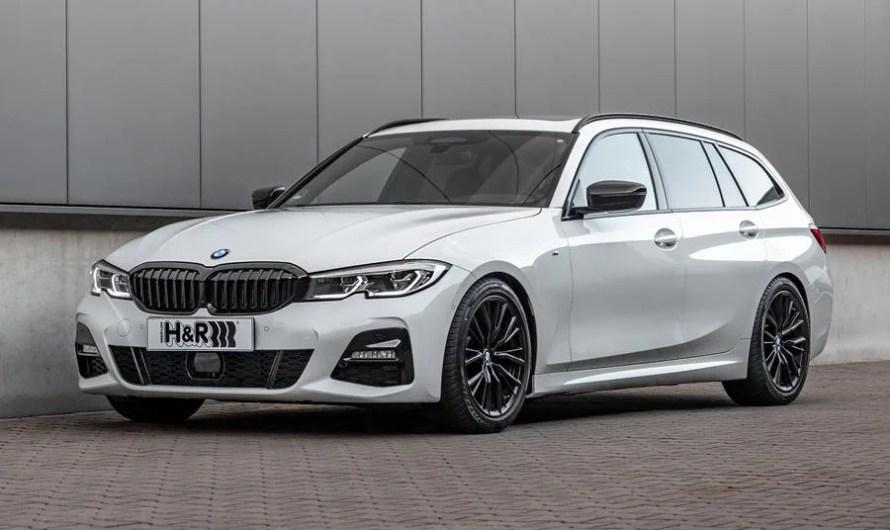H&R BMW 3 Série 2020 assurant ainsi des performances nettement plus dynamiques