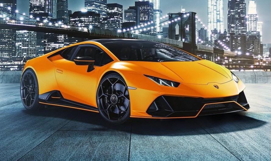 Lamborghini Huracan Evo Fluo Capsule 2021 – Moderne et élégante