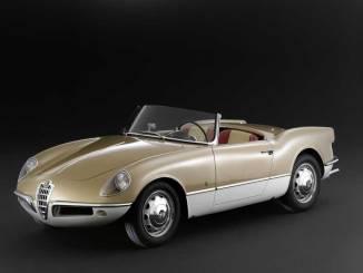 Alfa Romeo Giulietta Spider Bertone 1956