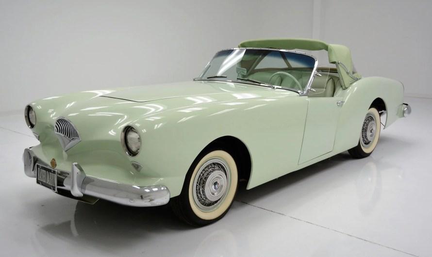 Kaiser Darrin 1954 – Un sublime roadster rare et recherché