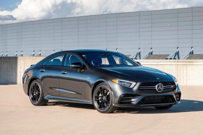 Mercedes-AMG CLS 53 2021 – Un extérieur qui fait fureur, un intérieur au style sportif.