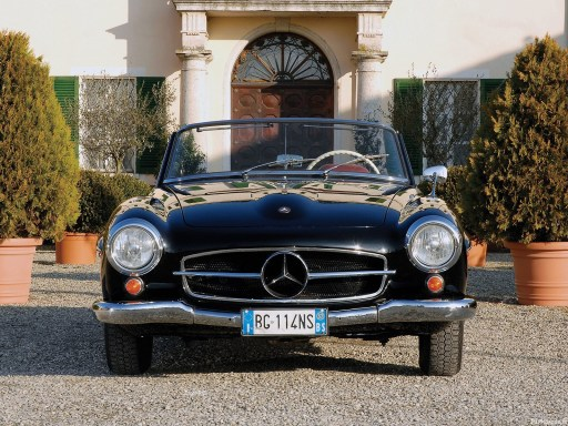 Mercedes Benz SL 190 1961