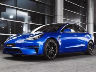 Tesla Model 3 Robot Craftsman 2021