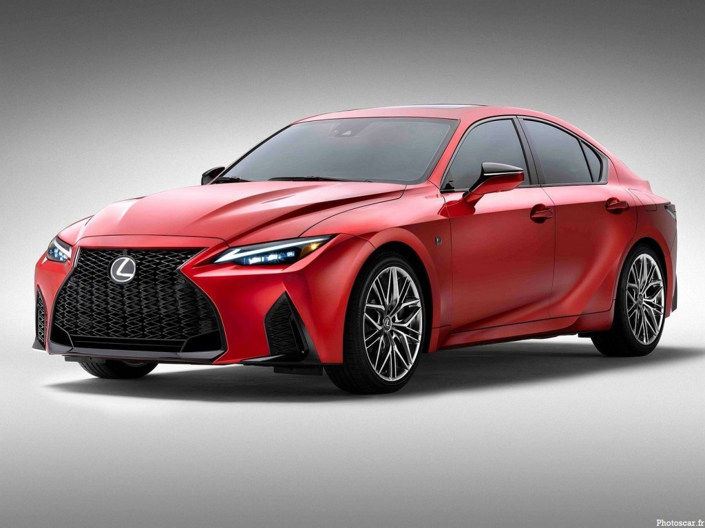 Lexus IS 500 F Sport Performance 2022 – Instruments de performance dynamiques