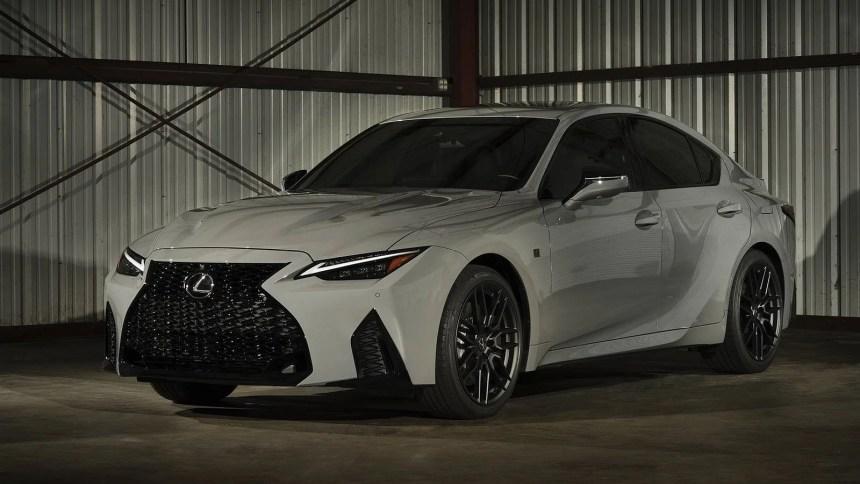 Lexus IS 500 Launch Edition 2022