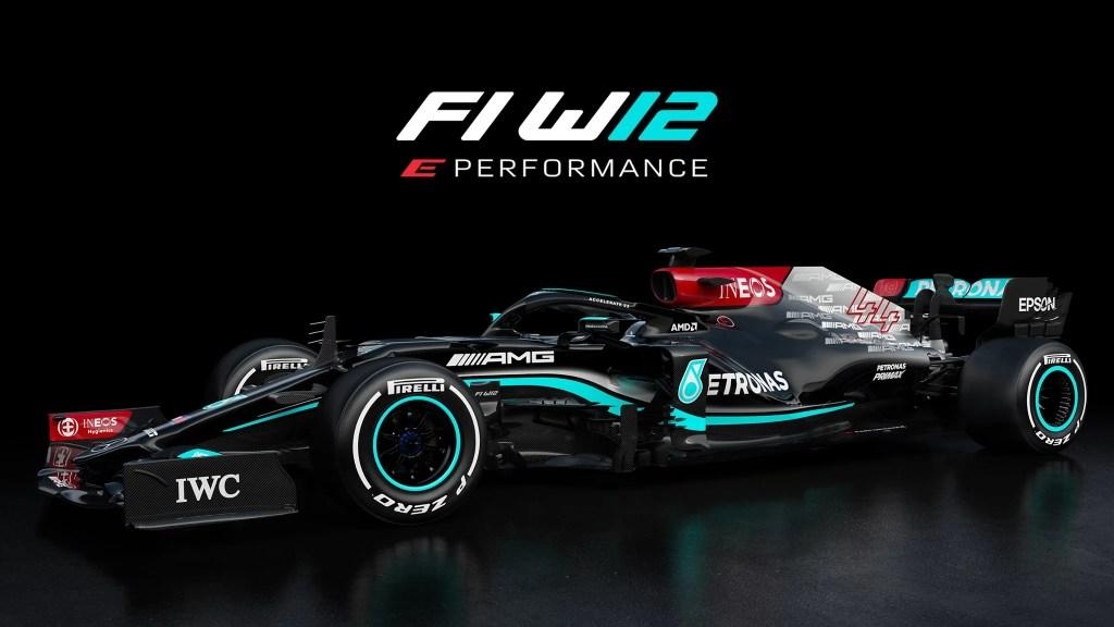Mercedes W12 F1 2021 – La voiture de Lewis Hamilton et Valtteri Bottas