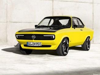 Opel Manta GSe ElektroMOD Concept 2021