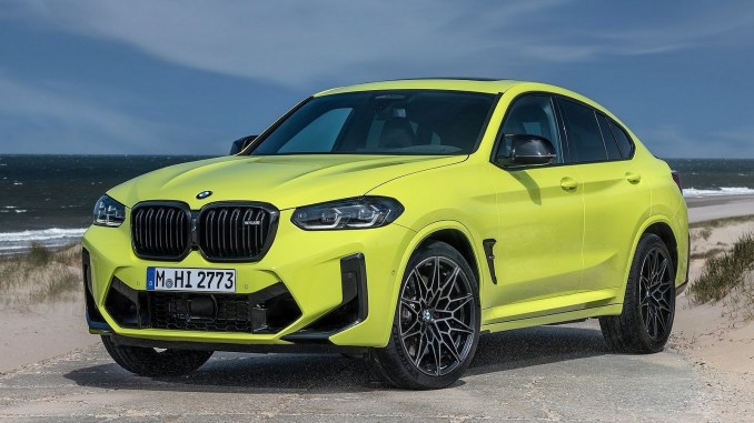 BMW X4 M Competition 2022