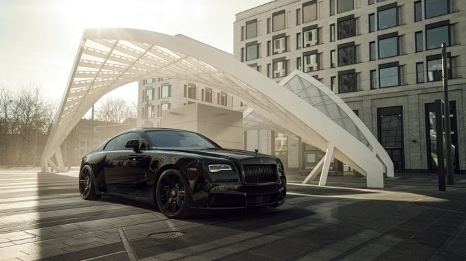 Rolls Royce Black Badge Wraith Spofec Overdose 2021
