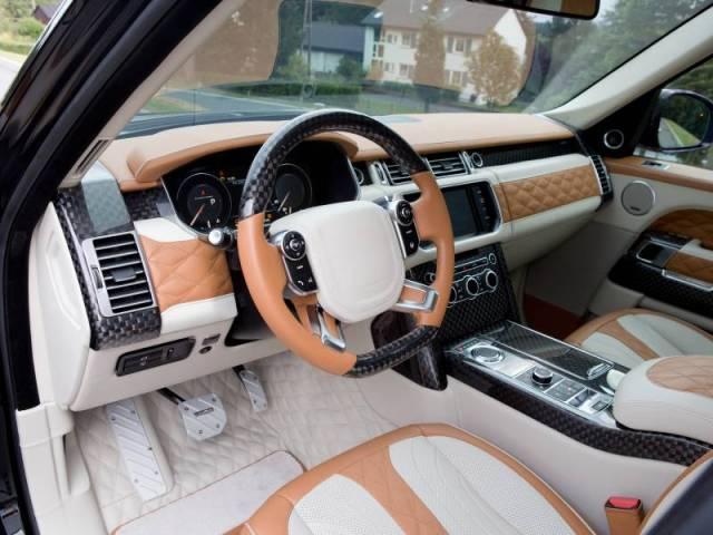 Mansory Range Rover Autobiography LWB L405 2015