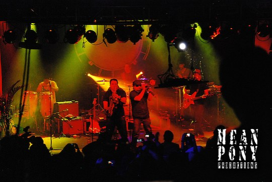 """""""Ozomatli""""  live @ """"The World Famous Harry O's"""" Park City, Utah 01.25.11 (Steven Wittenberg)"""