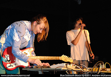 Blue Sabbath Black Fiji Music is the Music Language.SWG3 Glasgow 3 & 4 Septmber 2011