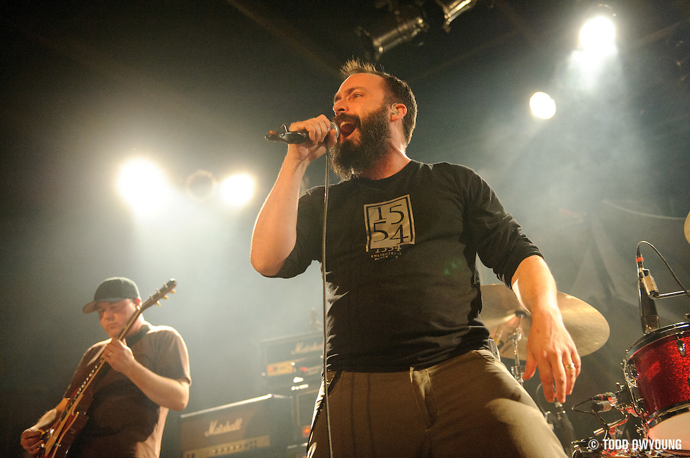 Photos of the band Clutch performing on February 20, 2011 at Pop's in Sauget, IL. (TODD OWYOUNG)