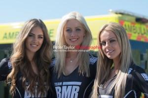 Team BMR Grid Girls