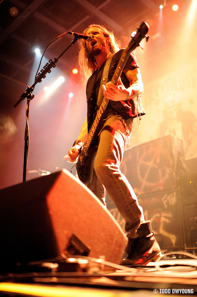 Photos of Rev Theory performing at the Pageant in St. Louis on June 1, 2011 in support of Black Label Society. (Todd Owyoung)