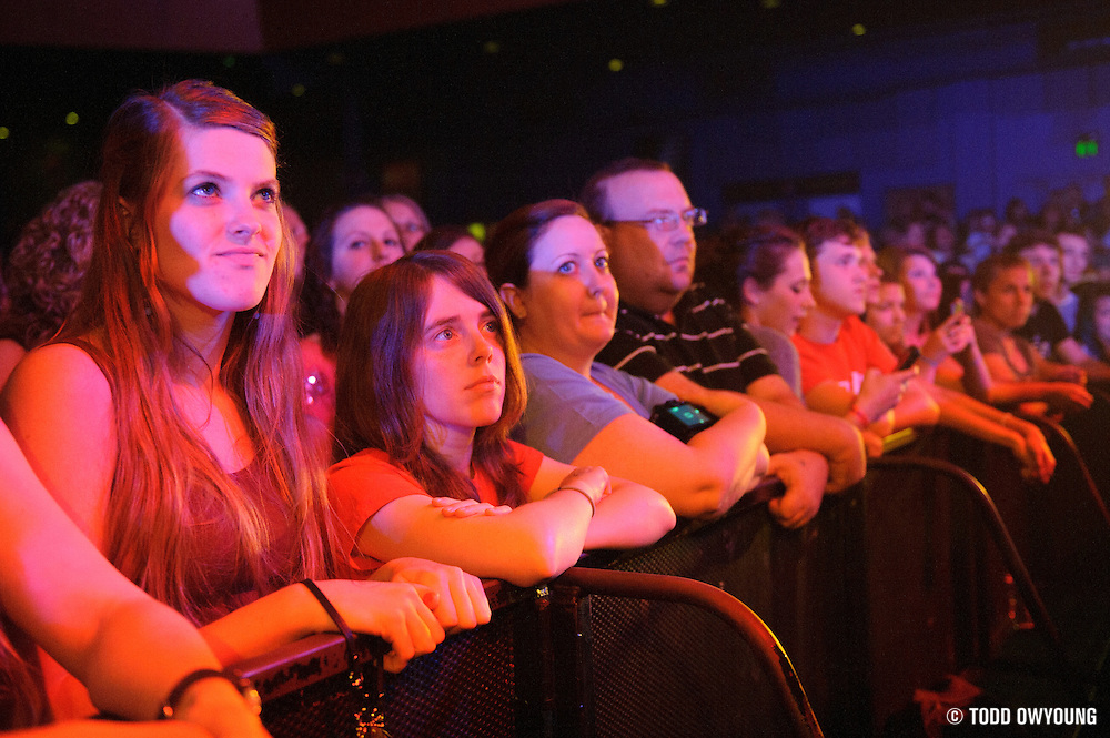 Fans during The Fray's headlining performance at the Pageant in St. Louis on May 8, 2012. (Todd Owyoung)