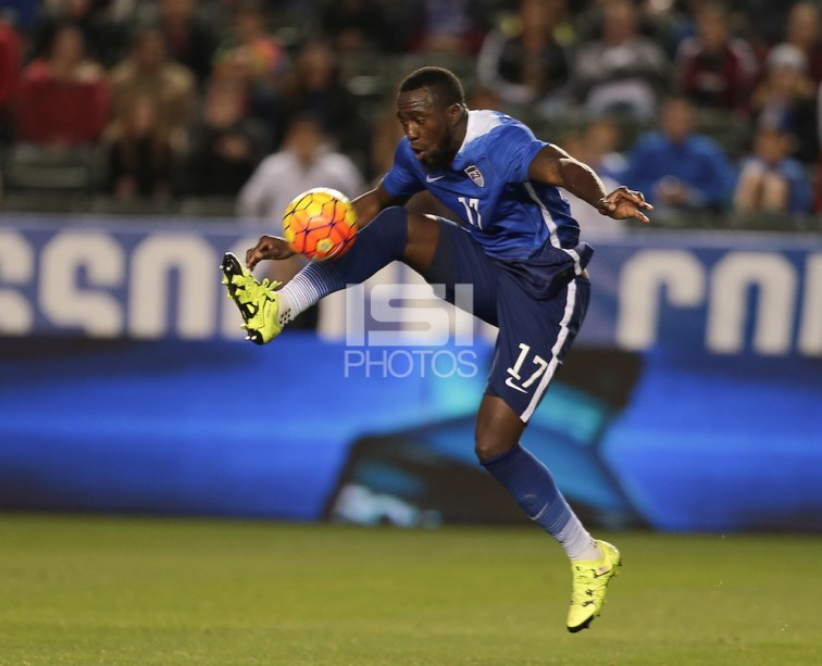 Jozy Altidore-- Carson, Ca - Friday, February 5, 2016: The US Men's National team defeats Canada 1-0 in an international friendly at StubHub Center. (John Dorton/isiphotos.com)