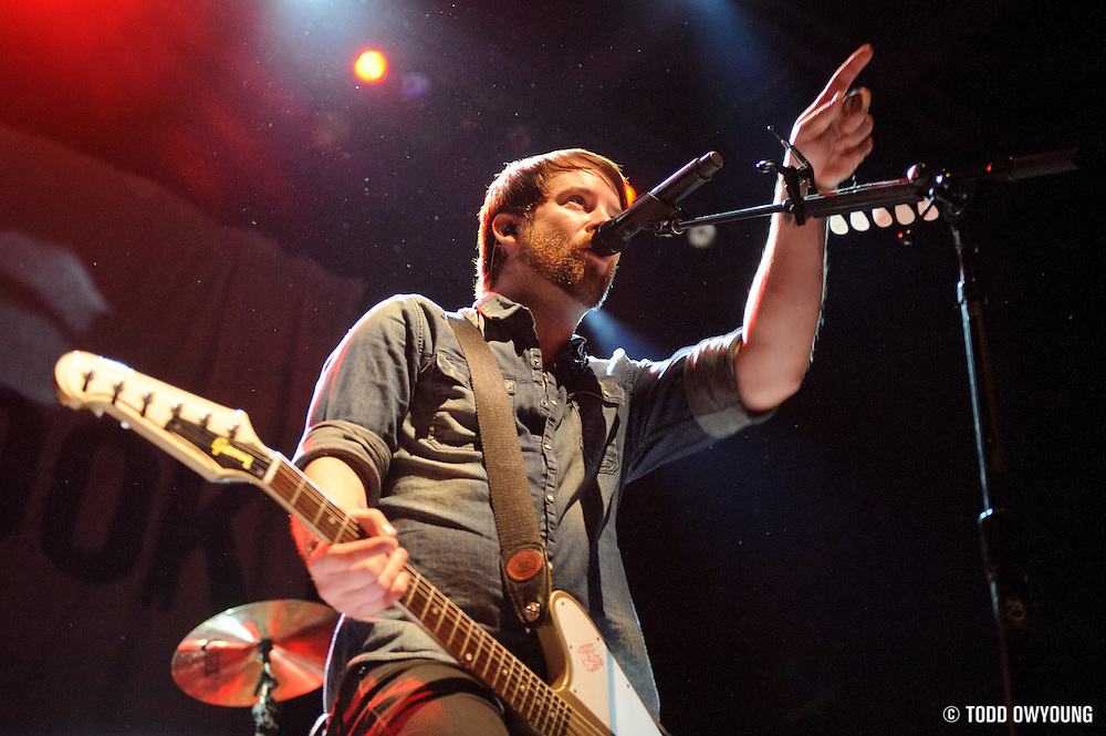 David Cook performing at the Pageant in St. Louis on October 11, 2011. © Todd Owyoung. (Todd Owyoung)