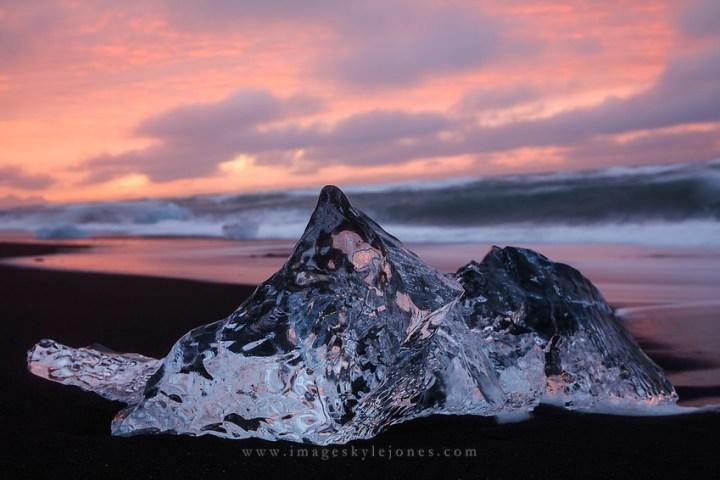Jökulsárlón, Iceland (Kyle Jones)