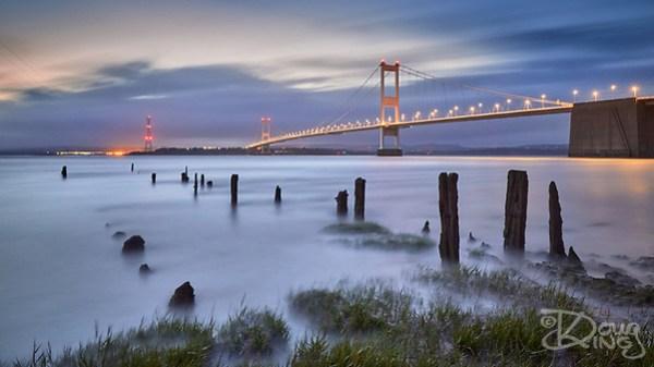 Severn Bridge at Night (Doug King)