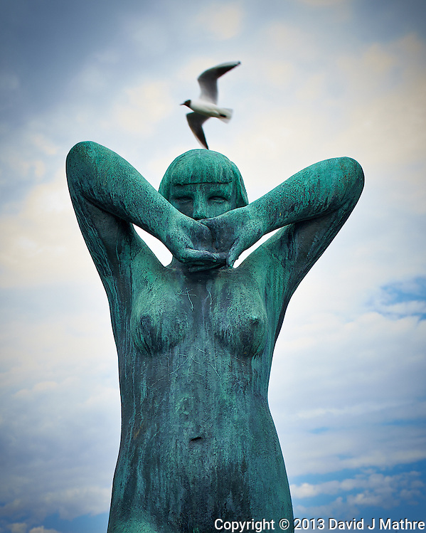 Vigeland Sculpture Park in Oslo, Norway. Semester at Sea, Spring 2013 Enrichment Voyage Day 32. Image taken with a Nikon D4 and 24 mm f/1.8 lens (ISO 400, 28 mm, f/5.6, 1/500 sec). (David J Mathre)