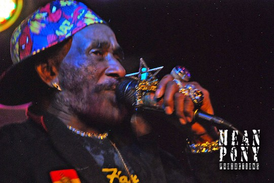 Lee Scratch Perry @ The Star Bar, Park City, Utah 12.16.09 (Steven Wittenberg)