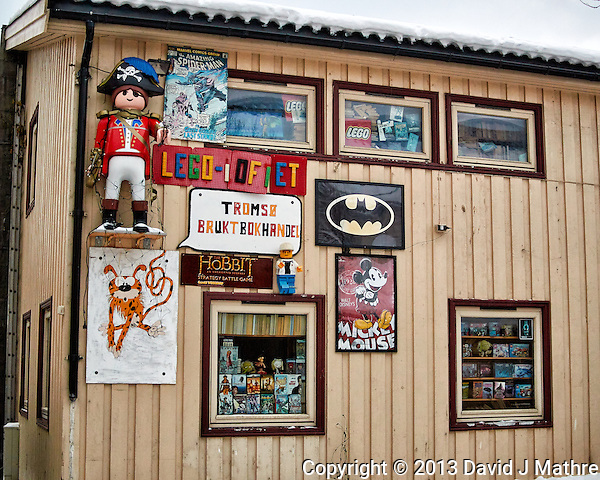 Toy store??? Winter walkabout in Tromsø, Norway. Image taken with a Nikon 1 V2 camera and 18.5 mm f/1.8 lens (ISO 320, 18.5 mm, f/2, 1/250 sec). (David J Mathre)