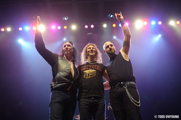 Photos of Canadian heavy metal band Anvil on the Anvil Experience Tour 2010. (TODD OWYOUNG)