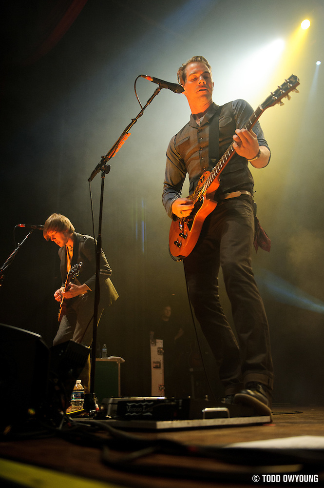 Photos of the band the Plain White T's performing at the Pageant in St. Louis on April 13, 2011. (Todd Owyoung)