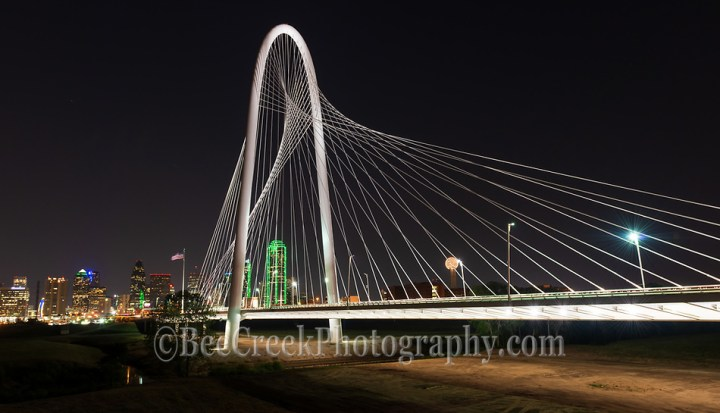 Margaret Hunt Hill Bridge in Dallas Texas (Bee Creek Photography - Tod Grubbs & Cynthia Hestand)