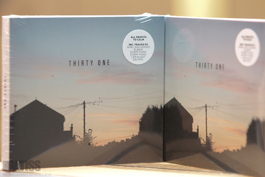 Cover of Thirty One Album, raising money for CALM (Mike Gatiss)