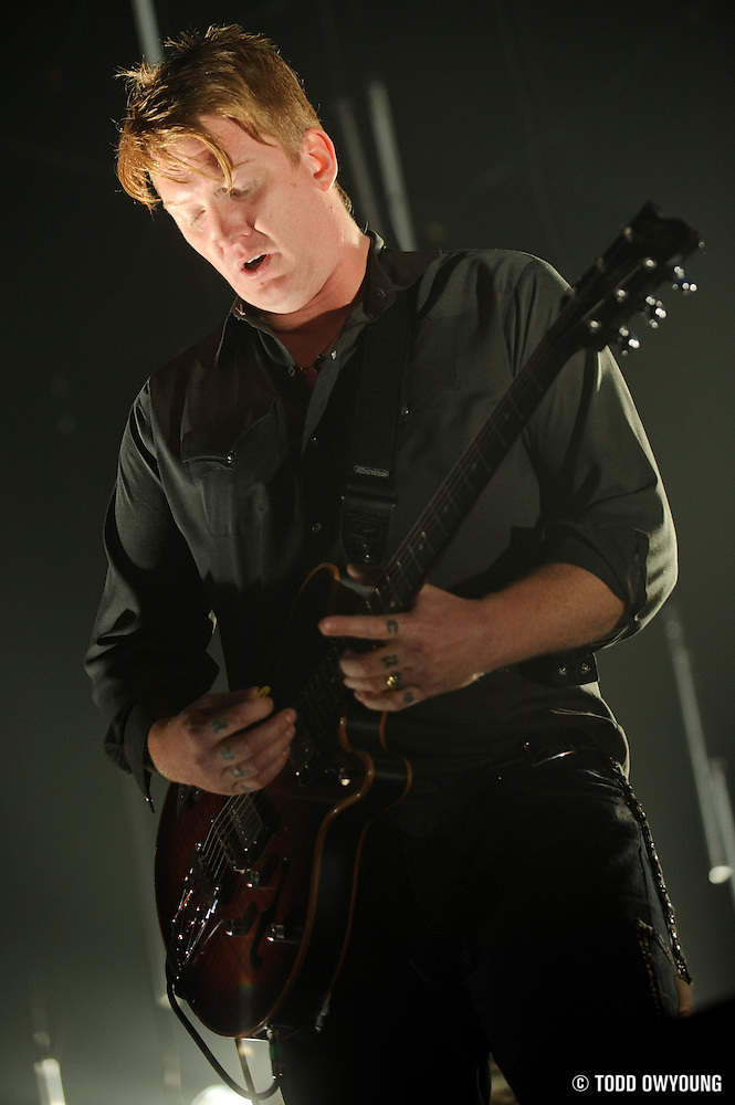 Photos of the band Queens of the Stone Age performing at the Pageant in St. Louis on April 5, 2010. (Todd Owyoung)