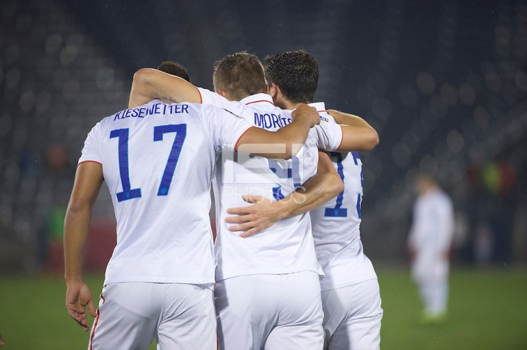 Commerce City, Colorado - Tuesday, October 6, 2015: The USMNT U-23 takes on Panama during the 2016 CONCACAF OLYMPIC QUALIFYING game at Dick's Sporting Goods Park. (Jamie Schwaberow/isiphotos.com)