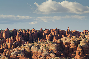 The Fiery Furnace, Arches National Park, Utah, US (Roddy Scheer)
