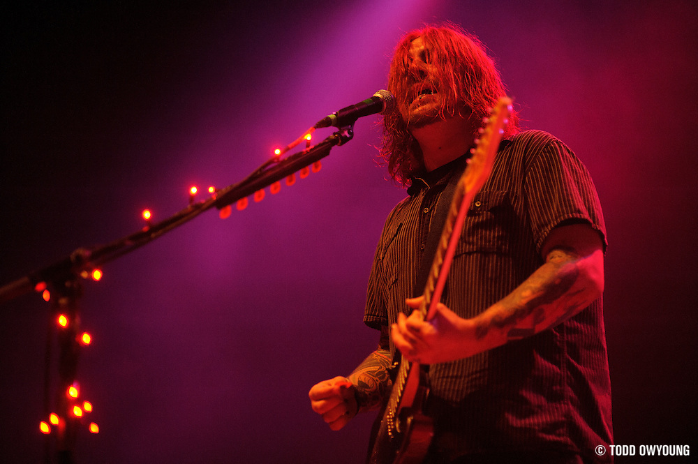 Photos of the band Seether performing at the Pageant in St. Louis on September 8, 2010. (�© Todd Owyoung)