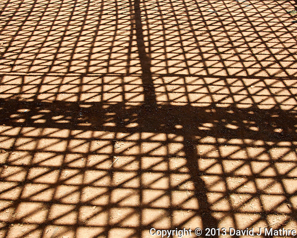 Shadows Under an Outdoor Eating Area. Atlas Mountains in Morocco. Image taken with a Nikon 1 V2 camera and 18.5 mm f/1.8 lens (ISO 160, 18.5 mm, f/4.5, 1/1250 sec) (David J Mathre)