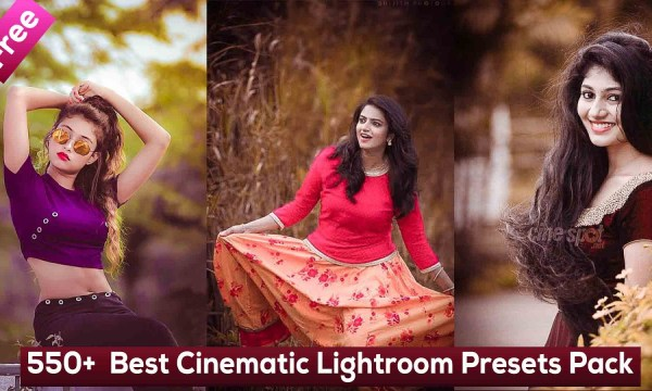 Best Cinematic Lightroom Presets Pack - 550+ Free Lightroom Presets