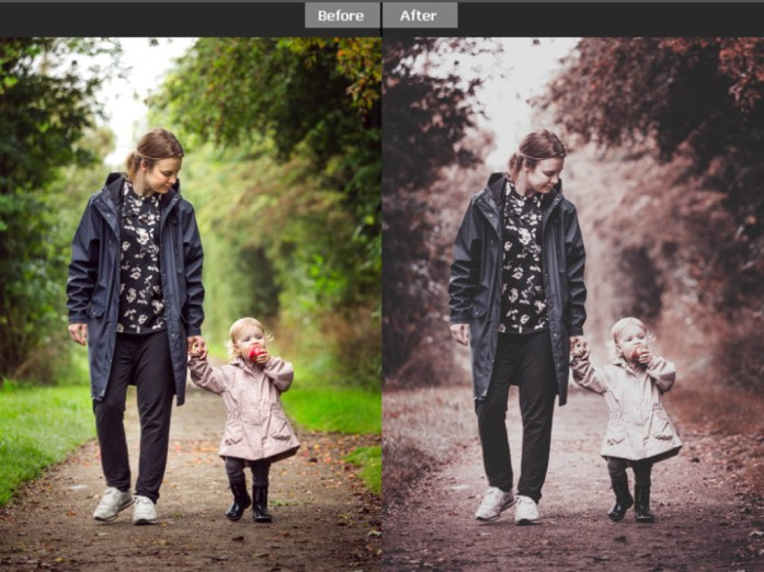 Blue And Pink Color Lookup (3D LUTs) Free Download